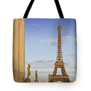 Eiffel Tower Paris Trocadero  Tote Bag by Melanie Viola