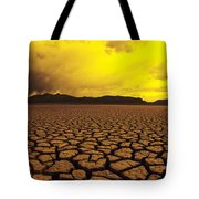 El Mirage Desert Tote Bag by Larry Dale Gordon - Printscapes