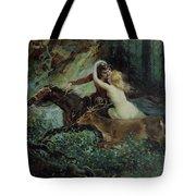 Elegy Of Bohemia Tote Bag by Adolf Liebscher