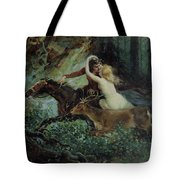 Elegy of Bohemia Tote Bag by Adolf Liebscher