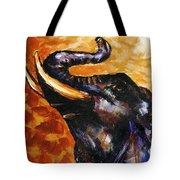 Elephant Song Tote Bag by Jai Johnson
