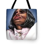 Elevated In His Glory Tote Bag by Reggie Duffie