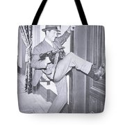 Eliot Ness Tote Bag by Unknown