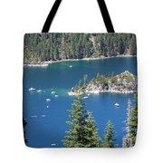 Emerald Bay Tote Bag by Carol Groenen