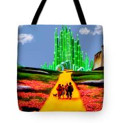 Emerald City Tote Bag by Tom Zukauskas
