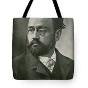 Emile Zola, French Author Tote Bag by Photo Researchers