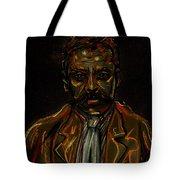 Emiliano Zapata Tote Bag by Americo Salazar