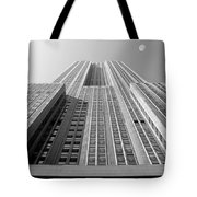 Empire State Building Tote Bag by Mike McGlothlen