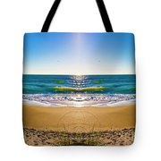 Enchanted Mirror Tote Bag by Betsy C Knapp