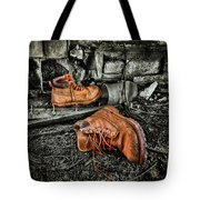 End Of The Road Tote Bag by Evelina Kremsdorf