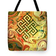 Endless Knot Two Tote Bag by Kevin J Cooper Artwork