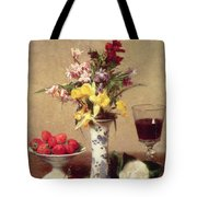 Engagement Bouquet Tote Bag by Ignace Henri Jean Fantin-Latour
