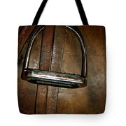 English Leather Tote Bag by Susan Herber