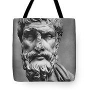 Epicurus (342?-270 B.c.) Tote Bag by Granger