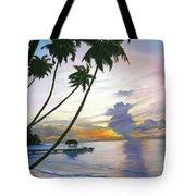 Eventide Tobago Tote Bag by Karin  Dawn Kelshall- Best