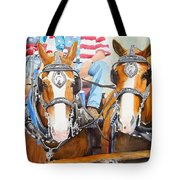 Everybody Loves A Parade Tote Bag by Ally Benbrook