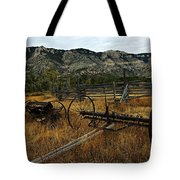 Ewing-Snell Ranch 4 Tote Bag by Larry Ricker