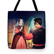 Execution Of Mary Queen Of Scots Tote Bag by English School