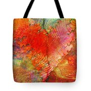 Exhilaration Tote Bag by Barbara Berney
