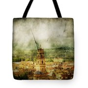 Existent Past Tote Bag by Andrew Paranavitana