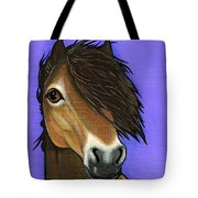 Exmoor Pony  Tote Bag by Leanne Wilkes