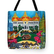Exotic Bangkok Tote Bag by Lisa  Lorenz