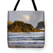 Eye Of The Storm Tote Bag by Mike  Dawson