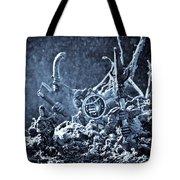 Facing The Enemy II Tote Bag by Marc Garrido