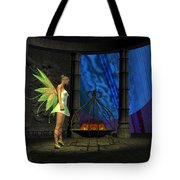 Fairy Haven Tote Bag by Corey Ford