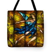 Fairy Tetraptych Tote Bag by Mandie Manzano