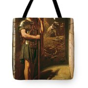 Faithful Unto Death Tote Bag by Sir Edward John Poynter