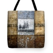 Fall Into Winter Tote Bag by Carol Leigh