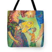 Family Matters Tote Bag by Naomi Gerrard