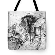 Fantasy Drawing 3 Tote Bag by Svetlana Novikova