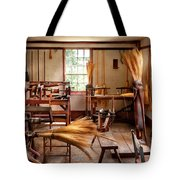 Fantasy - In The Witches Workshop Tote Bag by Mike Savad