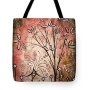 Far Far Away By Madart Tote Bag by Megan Duncanson