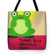 Fat Frog Best Tote Bag by Oliver Johnston