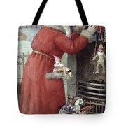 Father Christmas Tote Bag by Karl Roger