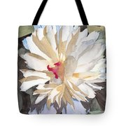 Feathery Flower Tote Bag by Ken Powers