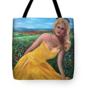 Felicia Tote Bag by Randy Burns