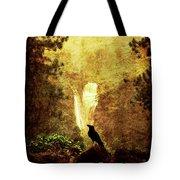 Felt Mountain Tote Bag by Andrew Paranavitana
