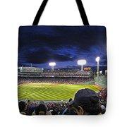 Fenway Night Tote Bag by Rick Berk