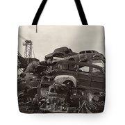 Field of Woody Dream Cars Tote Bag by Jack Pumphrey