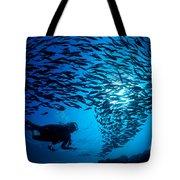 Fiji, Galapagos Islands Tote Bag by Dave Fleetham - Printscapes