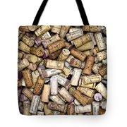 Fine Wine Corks Tote Bag by Frank Tschakert