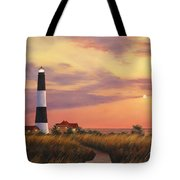 Fire Island Lighthouse Tote Bag by Diane Romanello