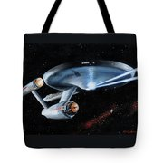 Fire Phasers Tote Bag by Kim Lockman