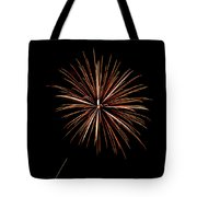 Fire Works Tote Bag by Gary Langley