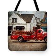 Fireman - Newark Fire Company Tote Bag by Mike Savad