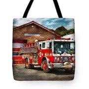 Fireman - Union Fire Company 1  Tote Bag by Mike Savad